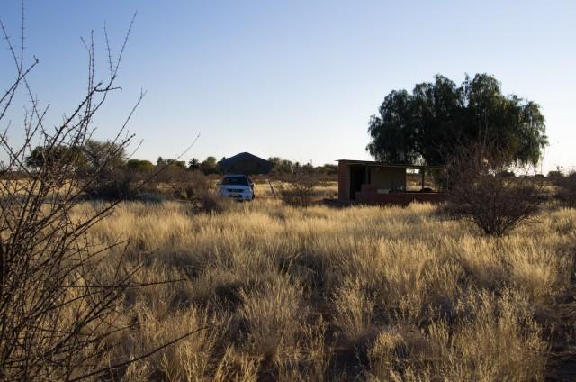 Campingplatz ala Namibia